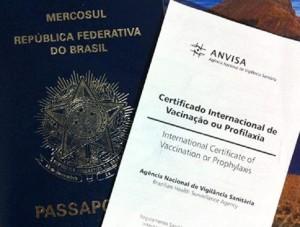 Certificado Internacional de Vacinação 1