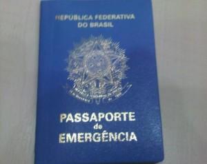 Como tirar o Passaporte de Emergência durante a viagem 1