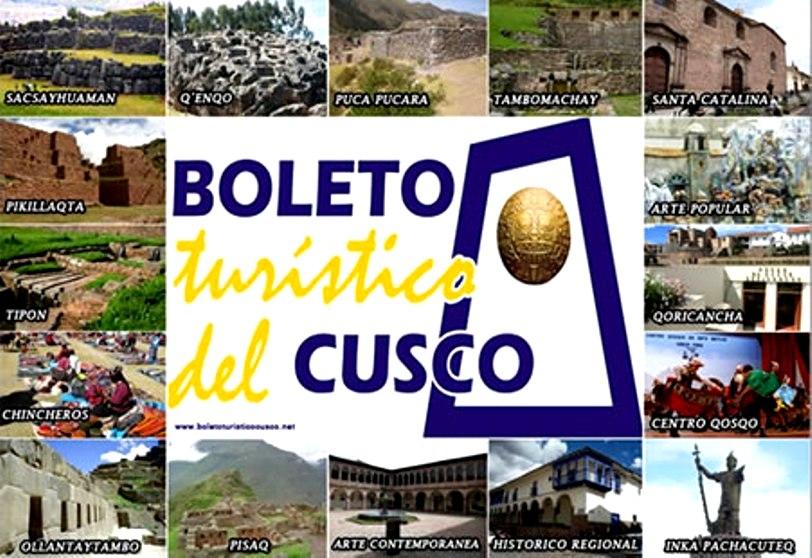 Boleto Turístico de Cusco, onde comprar 1